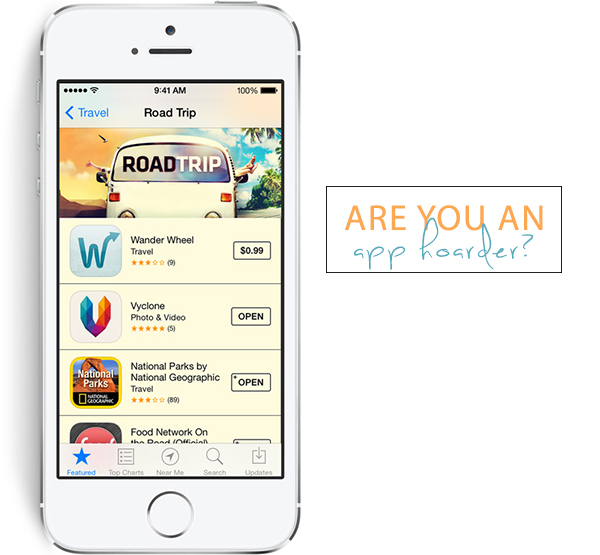 are you an app hoarder?