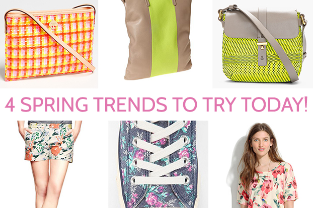 4 spring trends to try today