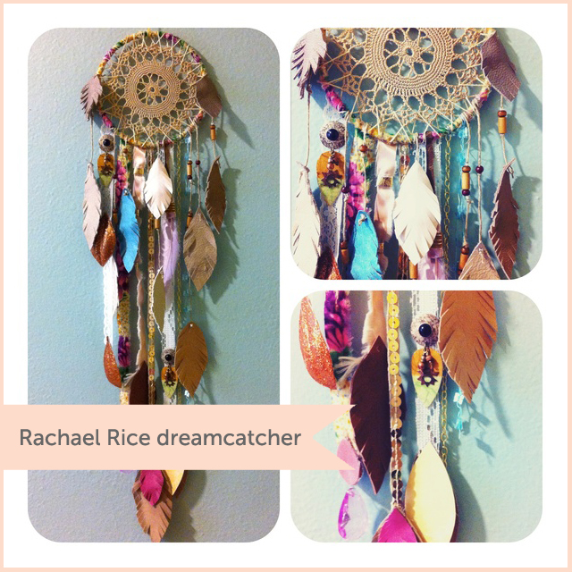 Rachael Rice dreamcatcher
