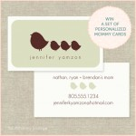 Giveaway: The Stationery Boutique Calling Cards