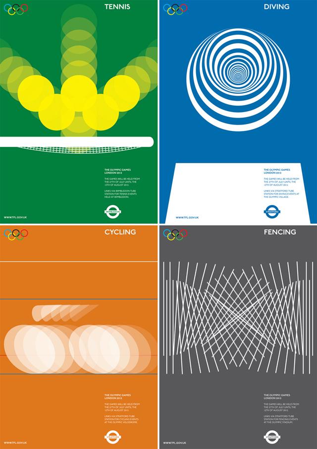 alan clarke olympics movements posters