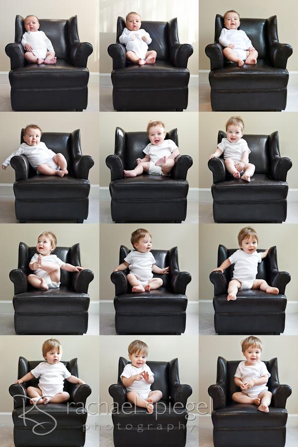 Rachael Spiegel_Monthly Baby Photos