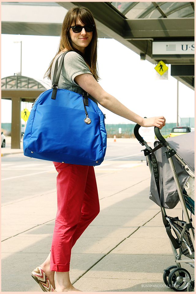 Lo & Son's The O.G. bag in blue