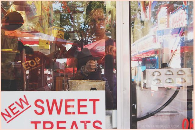 making deep fried candy bars at iowa state fair