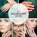 10 minimalist nail art ideas for fall