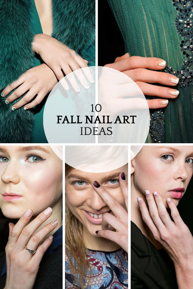 10 minimalist nail art ideas to try this fall on A Girl Named PJ