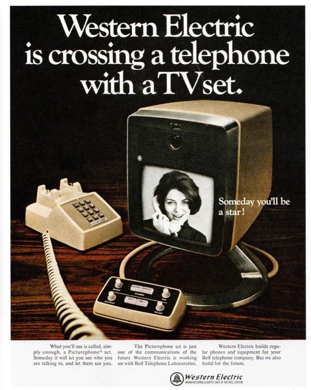1968 videophone advertisement