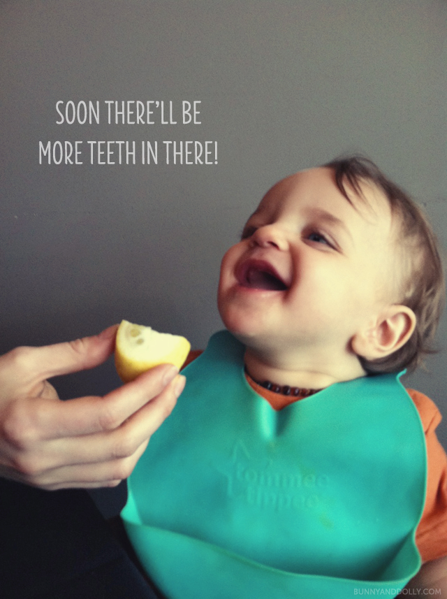 soon there'll be more teeth in there!