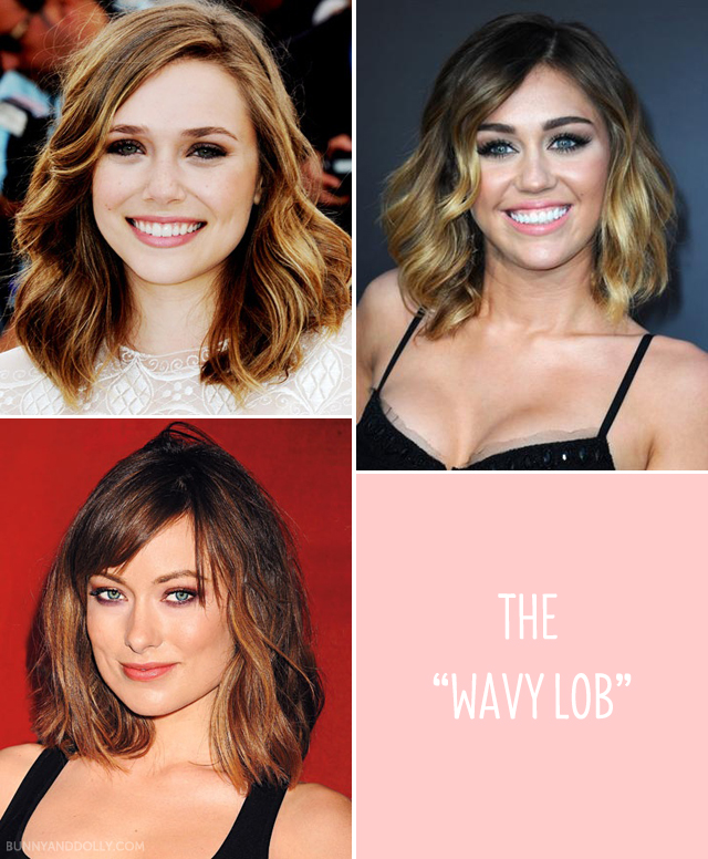 The Wavy Lob Hairstyle