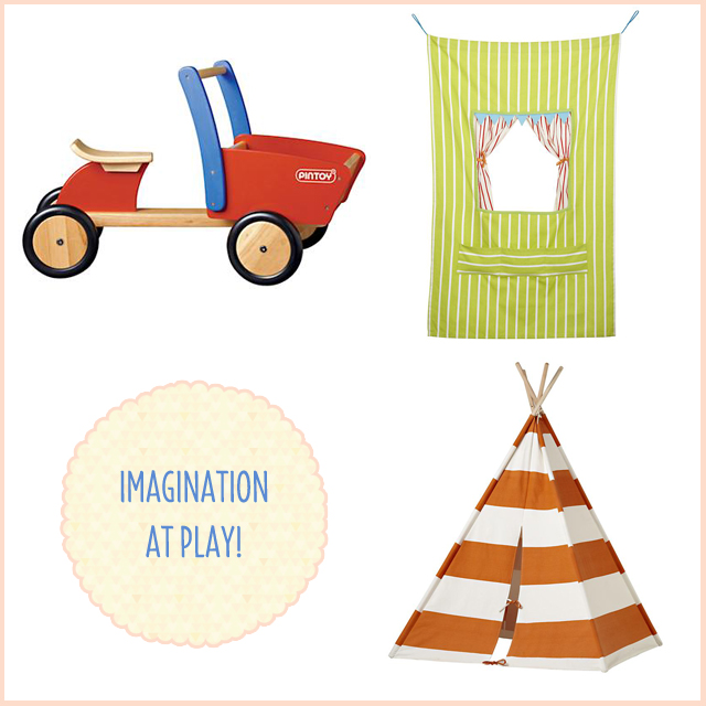 The Land of Nod Tent and Toys