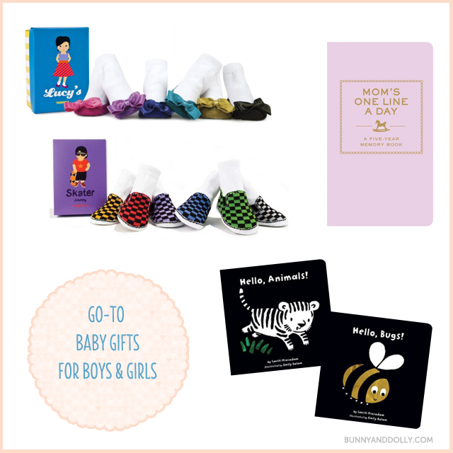 Go-to baby gifts for friends, co-workers or acquaintances
