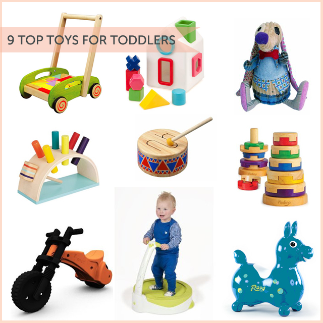 9 top toys for toddlers