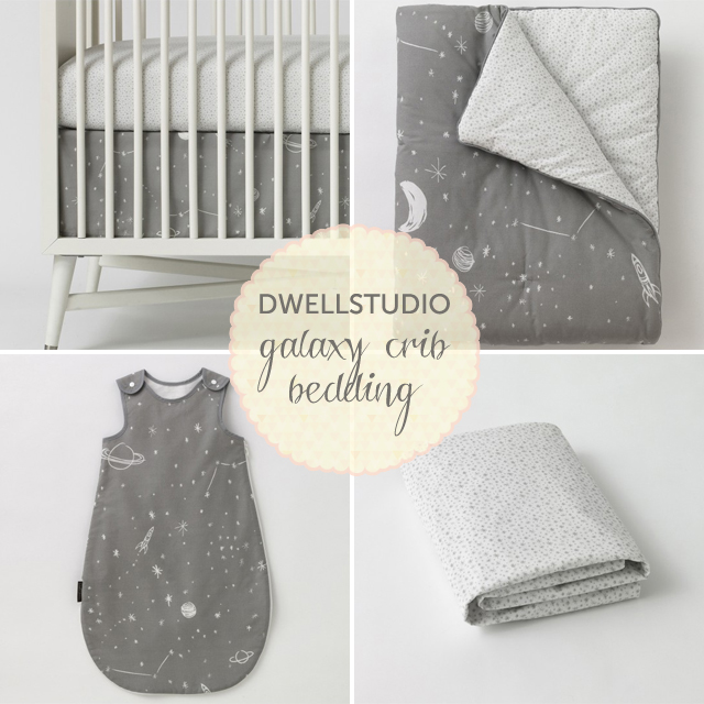 DwellStudio Galaxy Crib Bedding