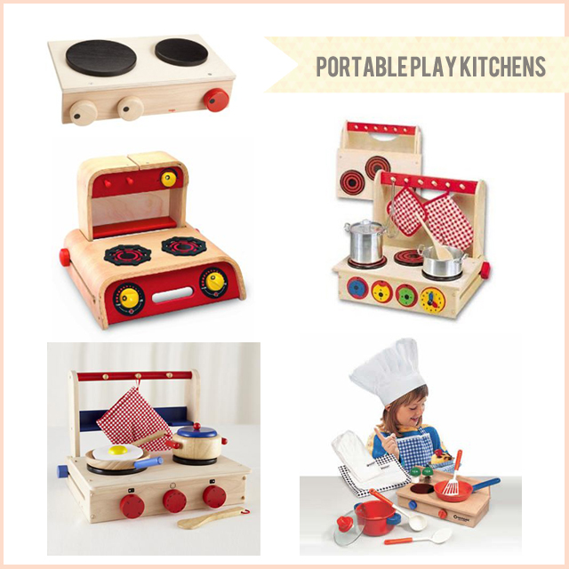 bunny & dolly | portable play kitchens