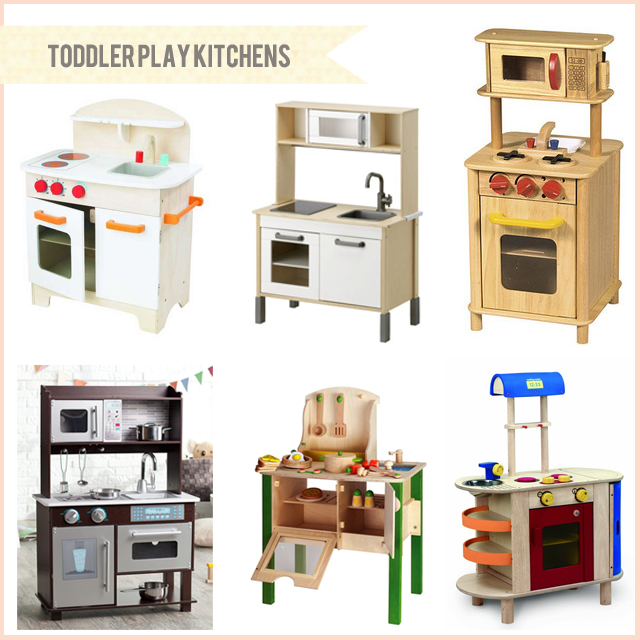 Bunny Dolly Toddler Play Kitchens Clockwise From Top Left Hape Gourmet Kitchen
