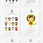 Cute calendars for kids