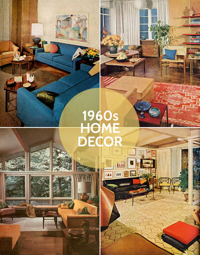 Mad men season 6 and 1960s decor for Home design 60s