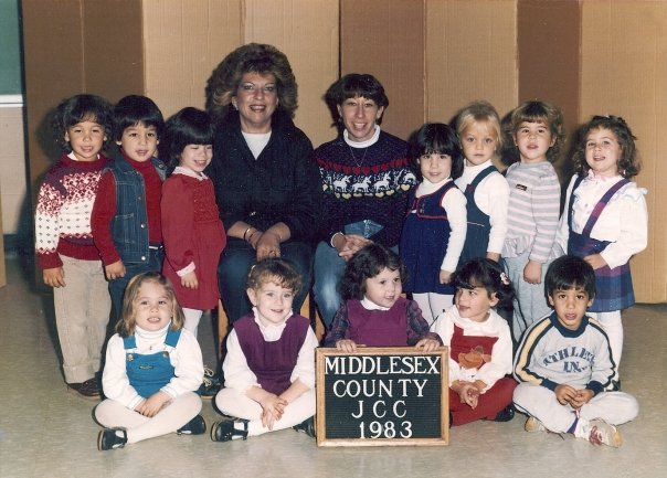 1980s preschool class photo bunnyanddolly.com
