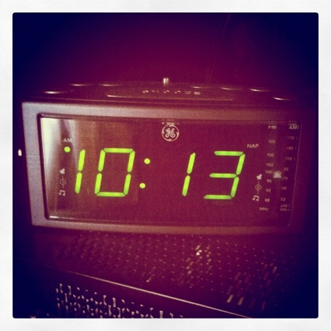 digital clock radio