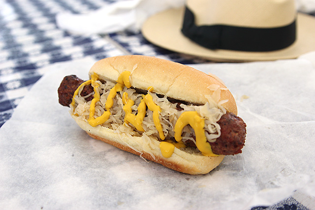 lamb bratwurst at iowa state fair
