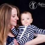 a baby portrait session
