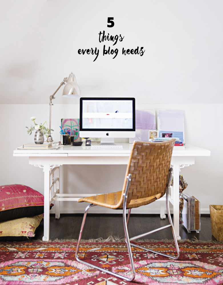 The 5 Things Your Blog Must Have | A Girl Named PJ