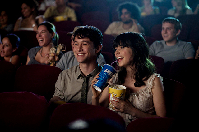 500 Days of Summer movie theater scene #zooeydeschanel bunnyanddolly.com