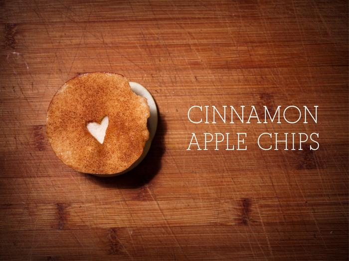 Cinnamon Apple Chip Recipe Title Image