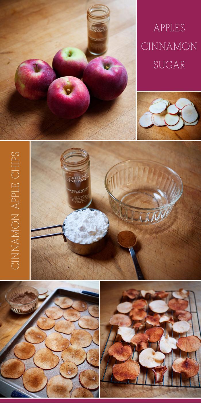 Cinnamon Apple Chip Recipe Process Photos
