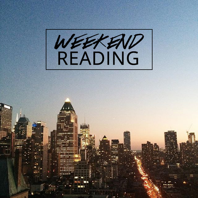 A Girl Named PJ's weekend reading link roundup | NYC skyline