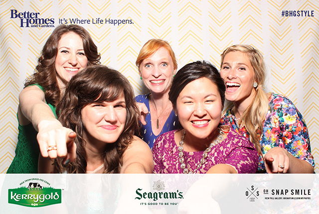 BHG Stylemaker party photobooth #BHGStyle
