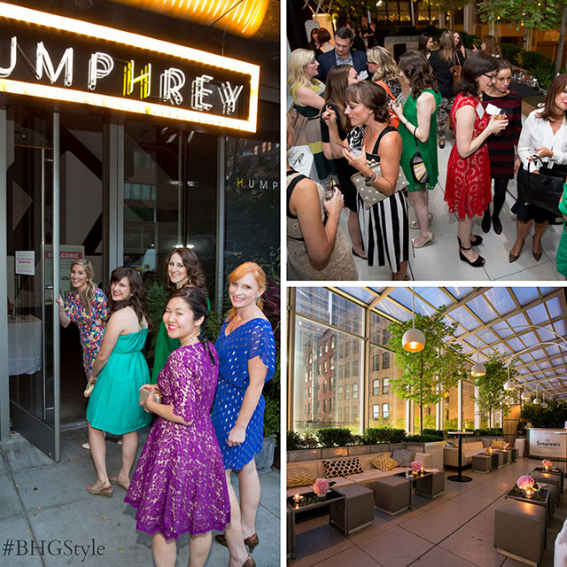 BHG Stylemaker party at the Humphrey #BHGStyle