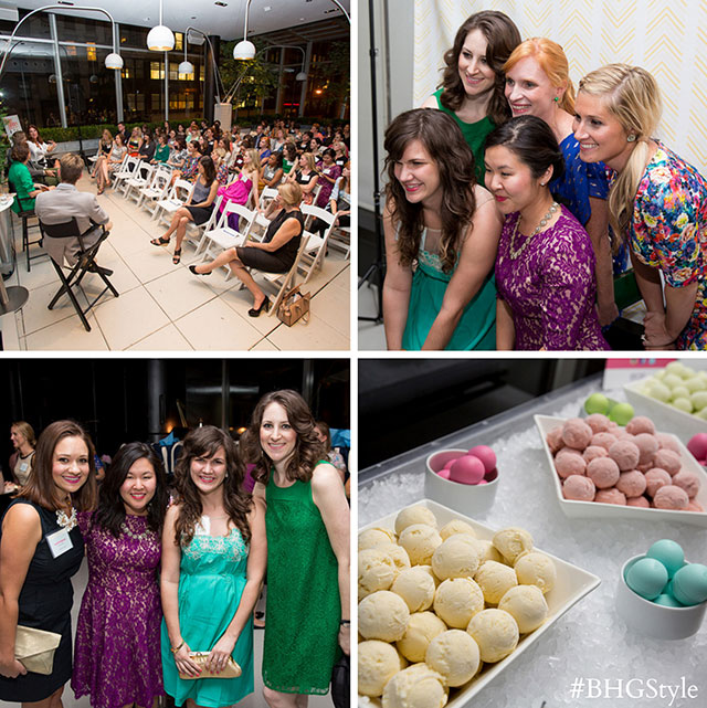 BHG Stylemaker party #BHGStyle