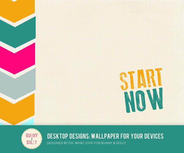 Bunny & Dolly Desktop Designs: Wallpaper for your devices - February - www.agirlnamedpj.com