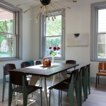 Dining room inspiration: Sputnik chandeliers