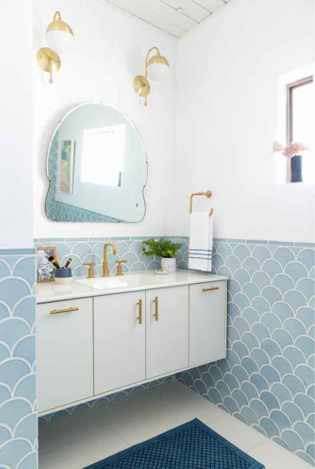 Mid-Century Master Bathroom and OTC Acne Treatments