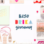 $250 BRIKA giveaway with The Holiday Collective