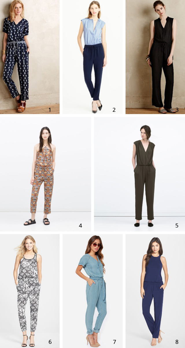 jumpsuits for spring | A Girl Named PJ