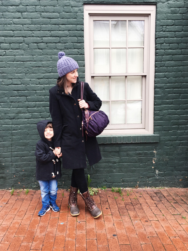 I spent my blog hiatus walking around Georgetown with my son | A Girl Named PJ