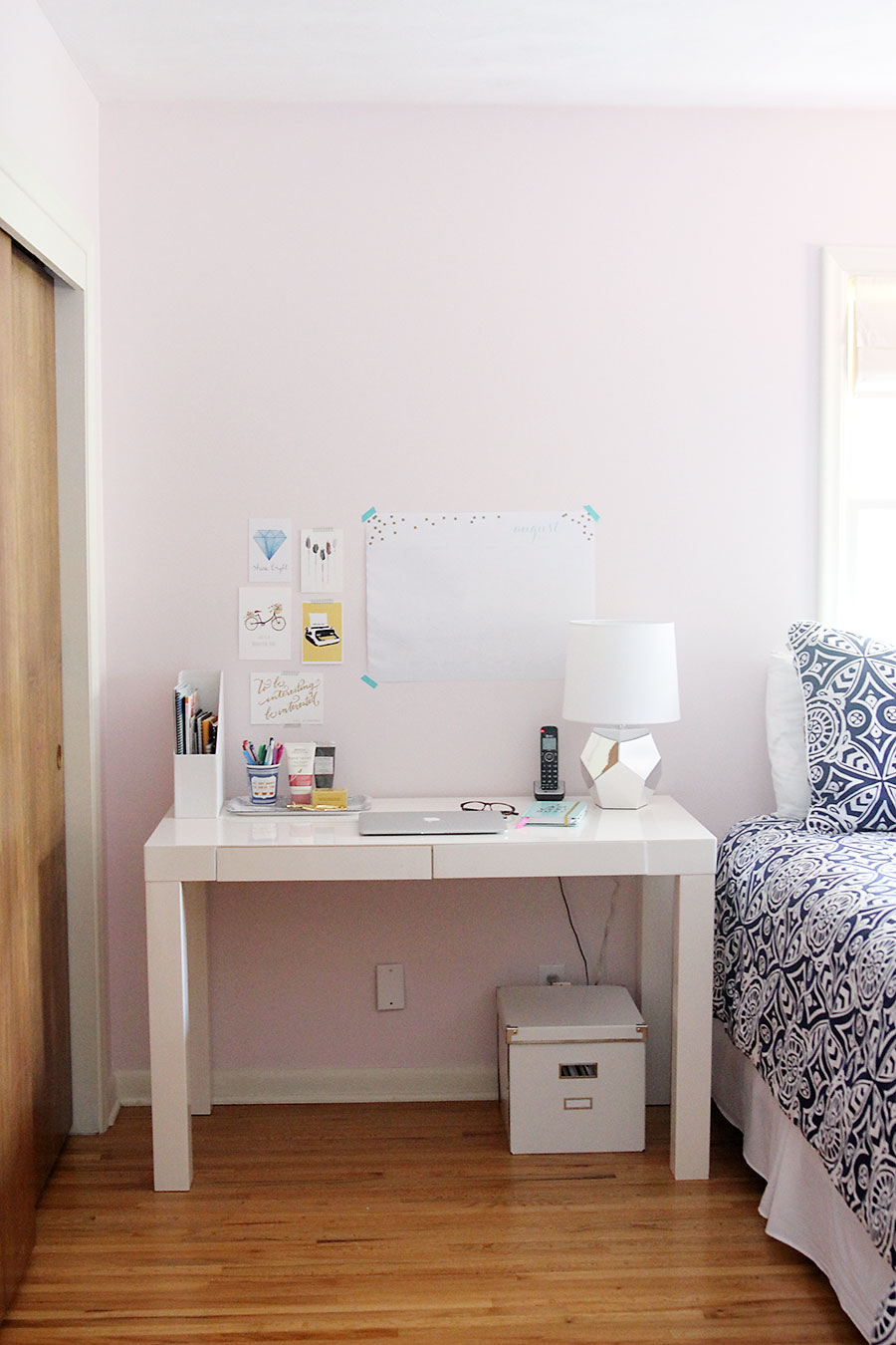 Home tour: A multi purpose nursery for Asa - A Girl Named PJ