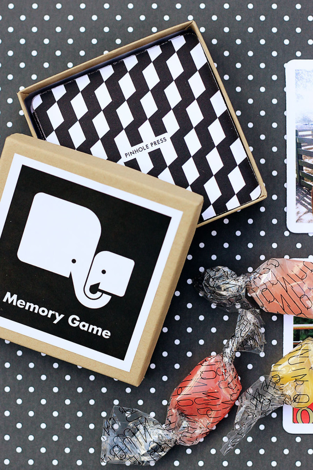 Personalized memory game for kids on A Girl Named PJ