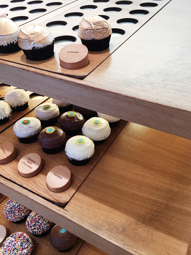 How I spent my blog hiatus: Eating Sprinkles cupcakes, of course!