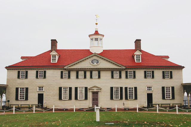 Things to do in DC: Visiting Mount Vernon (in the rain!) on A Girl Named PJ