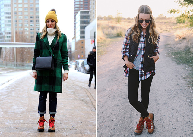 9 stylish ways to wear hiking boots - A Girl Named PJ