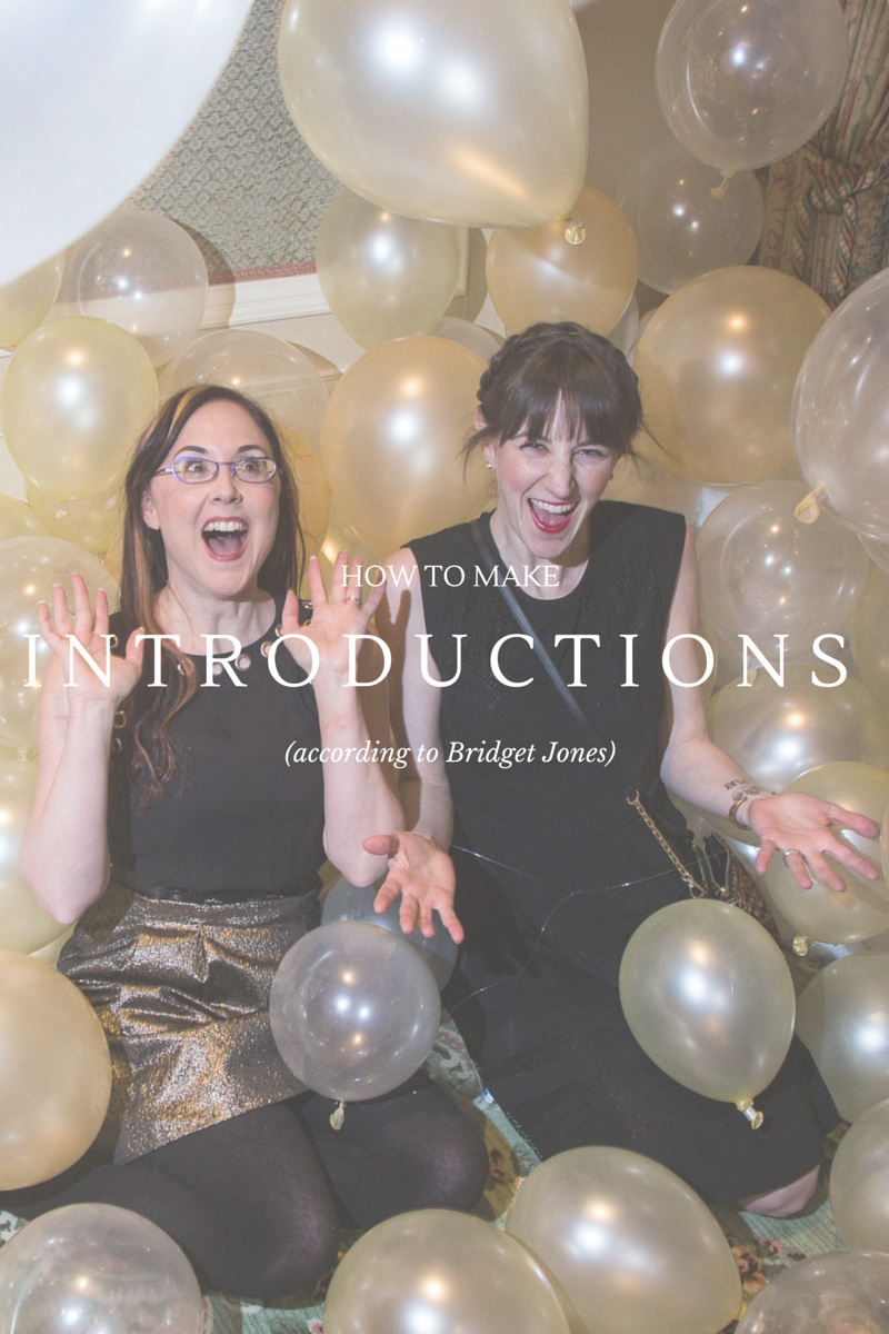 how to make introductions | A Girl Named PJ