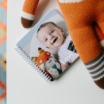 Baby's first year photo book