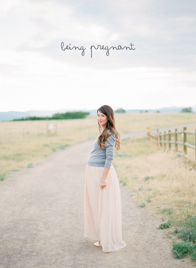 maternity photo | being pregnant