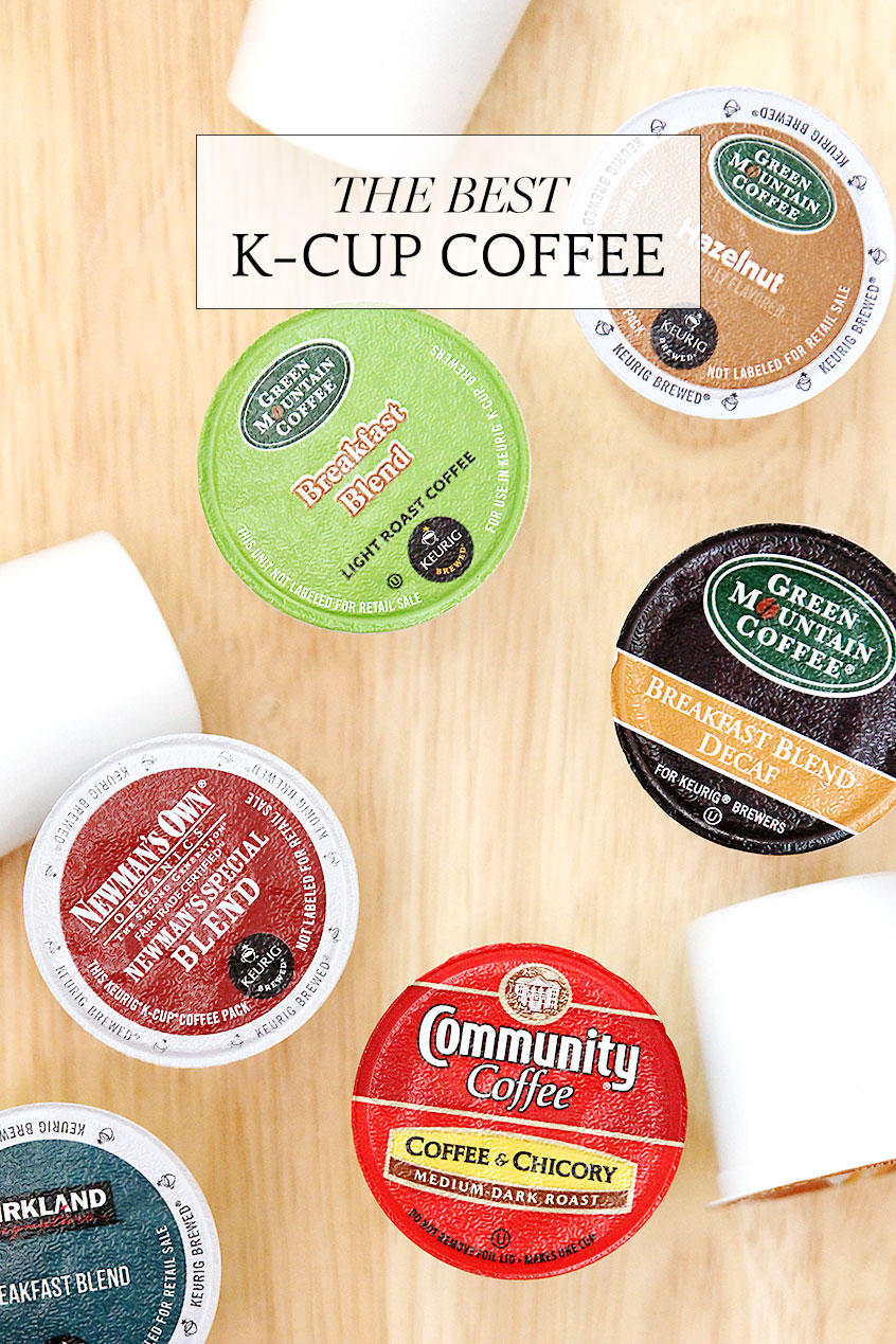The Best K Cup Coffee A Named Pj