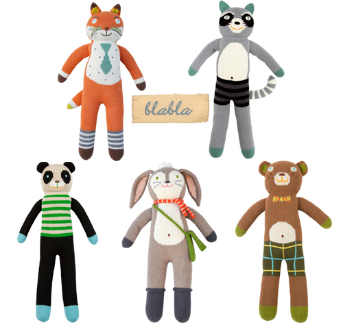 These irresistibly soft and cuddly dolls are hand-knit, % cotton, and eco-friendly. Featuring a design that is both modern and classic, bla bla dolls are cherished and collected by children and adults alike.