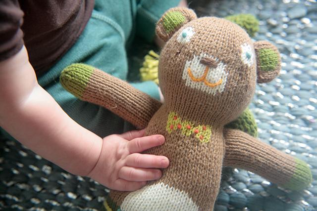 blabla knit dolls - Berlioz
